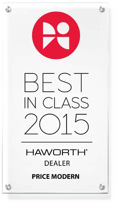 Best in Class 2015 Haworth Dealer